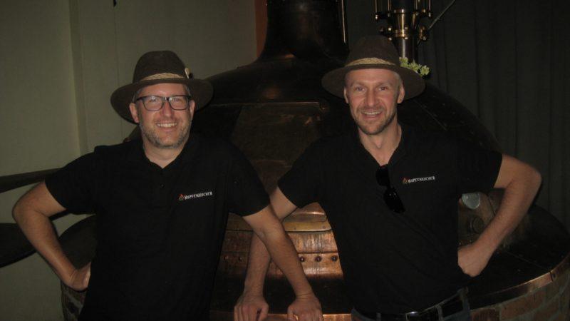 Die Hopfenkocher: Wilhelm und Spiegel