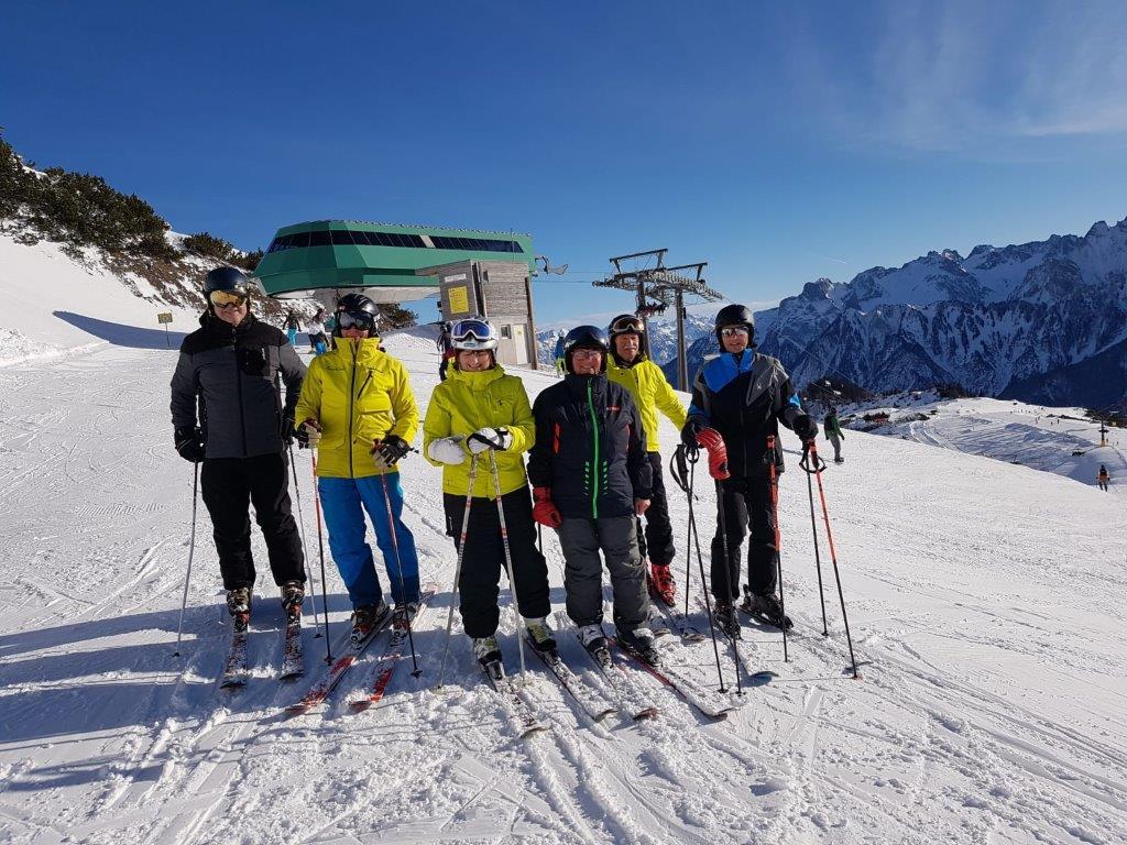 Unvergessliche Wintersporttage in Brand