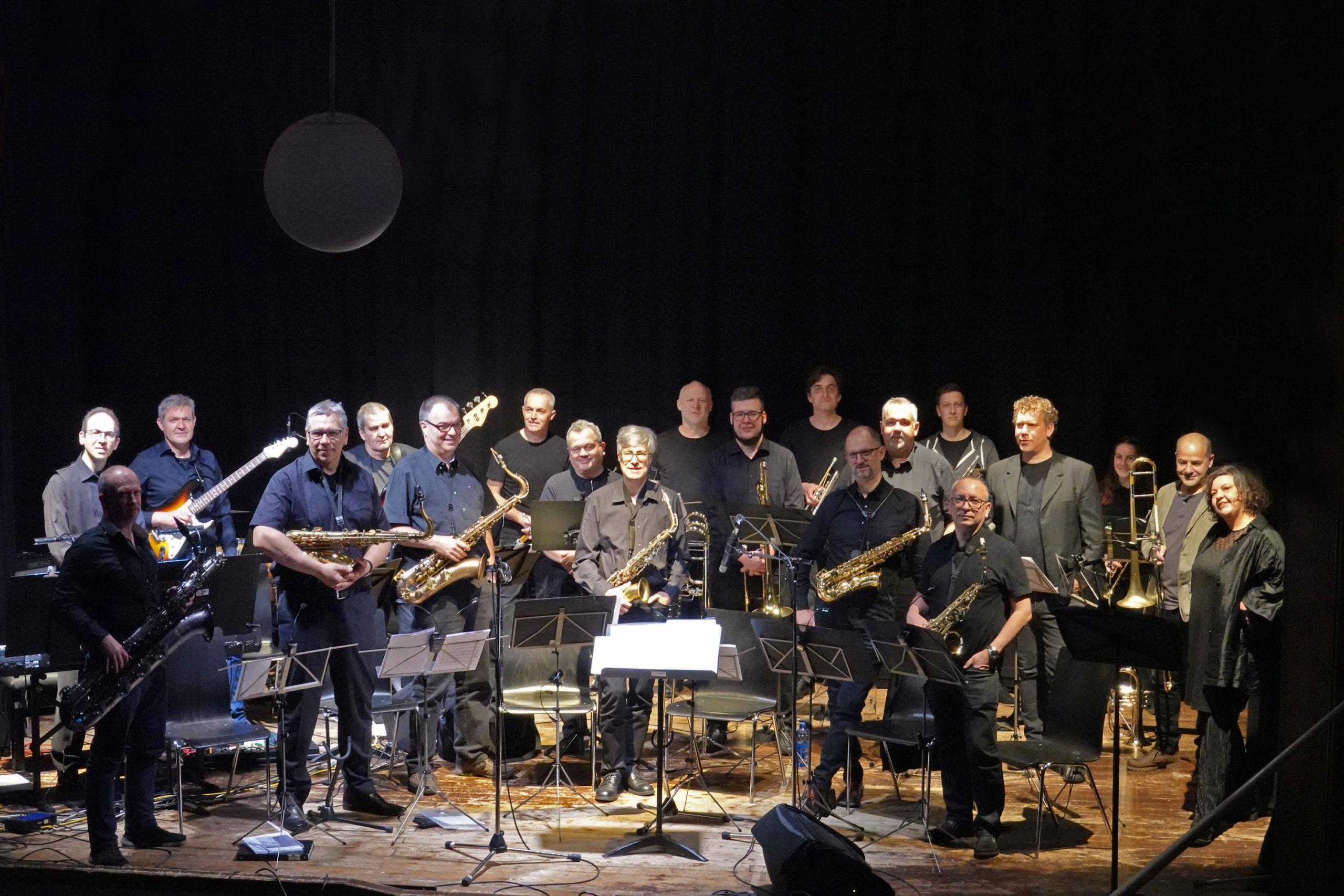 Big Band Walgau trumpft ordendlich auf