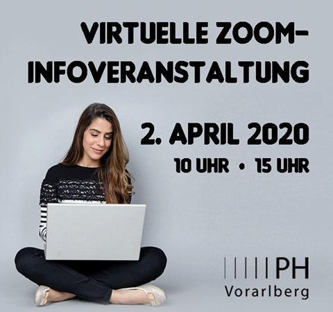 Online Infoveranstaltung an der PH Vorarlberg für Studieninteressierte