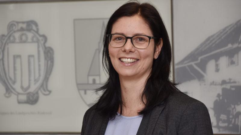 Eine Frau die anderen als Vorbild vorangeht: Katharina Wöss-Krall