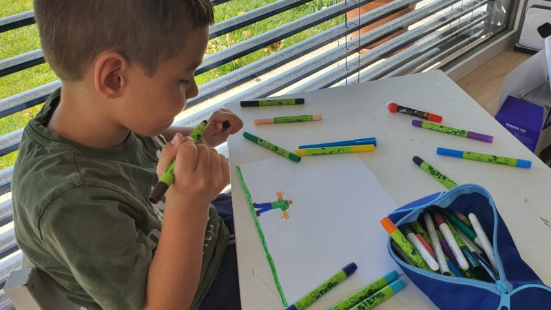 Malwettbewerb als Abwechslung für Kinder in der Coronakrise