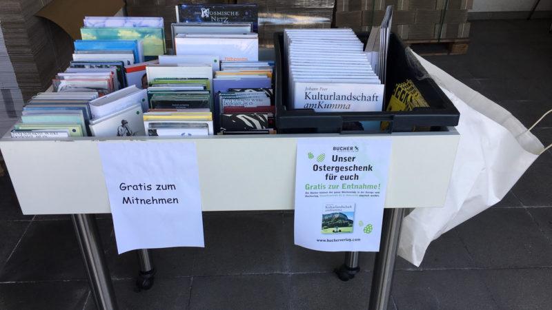 Kostenlose Bücher gegen Langeweile in der Krise