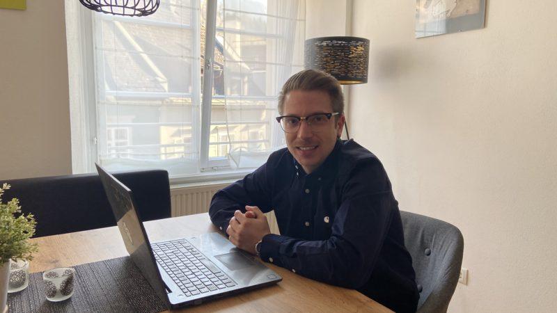 """Max Behrle berichtet vom Homeoffice: """"Fast schon Routine"""""""