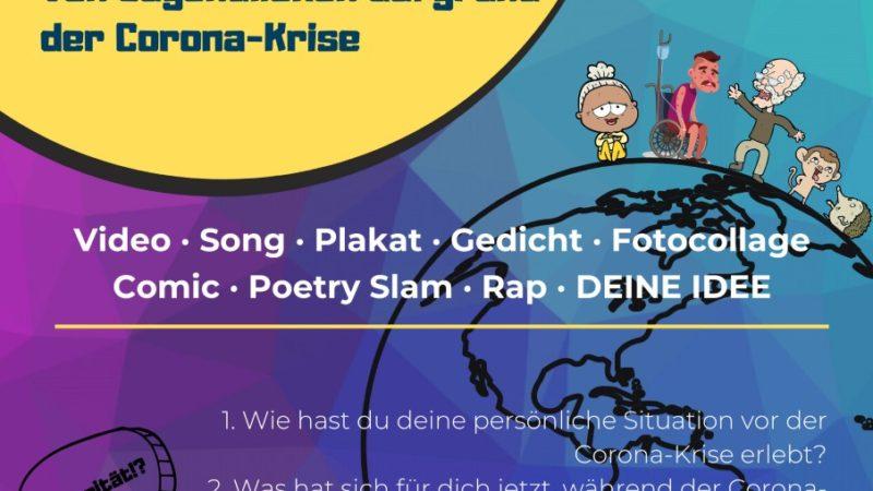 """Online-Wettbewerb für Jugendliche: """"Veränderte Lebenswelten"""""""