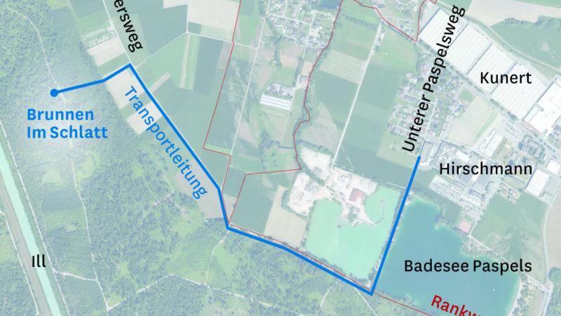 Neuer Grundwasserbrunnen für Rankweil