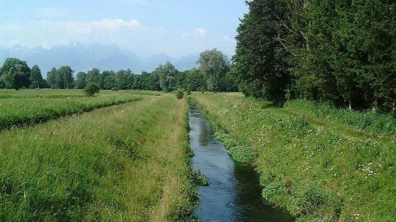 Bewilligungspflicht bei Wasserentnahmen aus Bächen