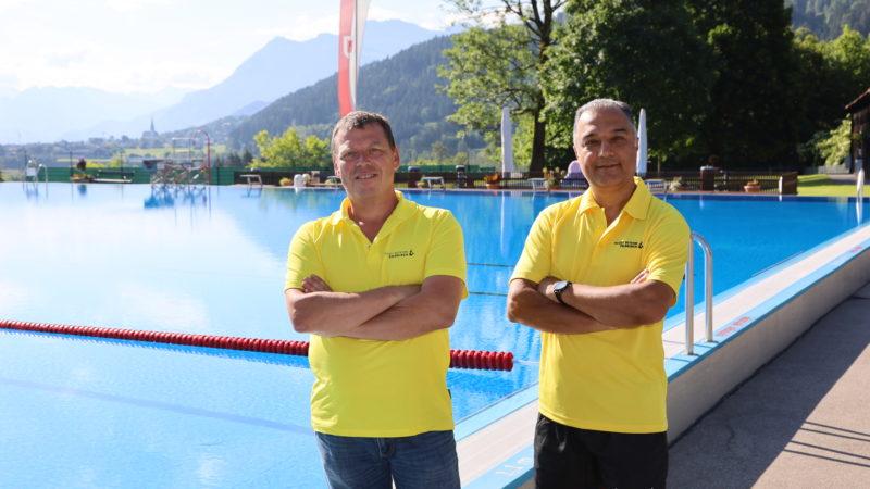 Ältestes Freibad Vorarlbergs ist gleichzeitig Vorzeigebad