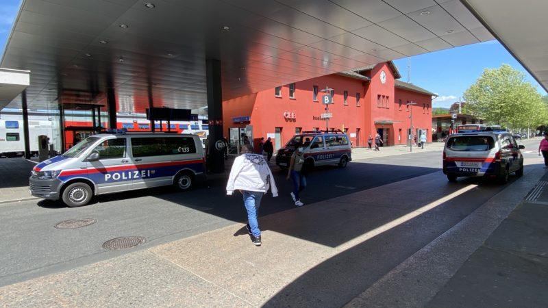 Körperverletzung mit Todesfolge am Bahnhof Dornbirn