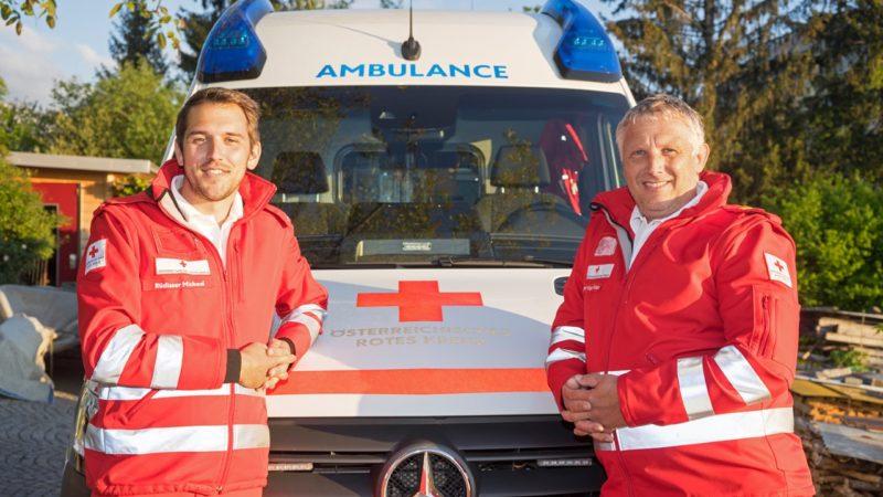Rotkreuz-Abteilung Dornbirn freut sich über neuen Kommandanten