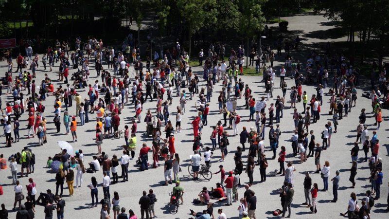 Corona-Demo in Bregenz geht mit 500 Teilnehmern in zweite Runde