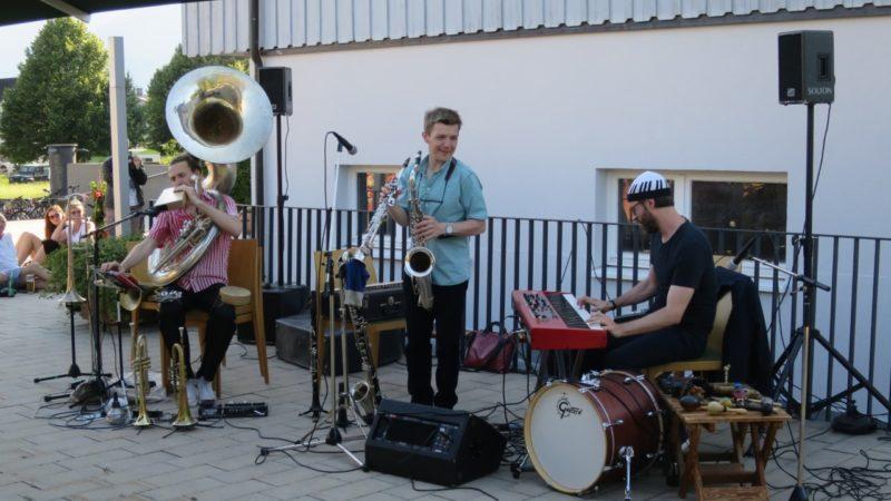 David Helbok und Random/Control live in Koblach