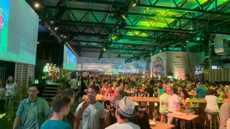 Rauch Fruchtsäfte machte 2019 über 1 Milliarde Euro Umsatz