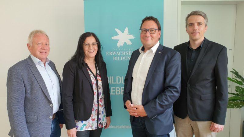 Neuwahl bei der Arbeitsgemeinschaft der Vorarlberger Erwachsenenbildung