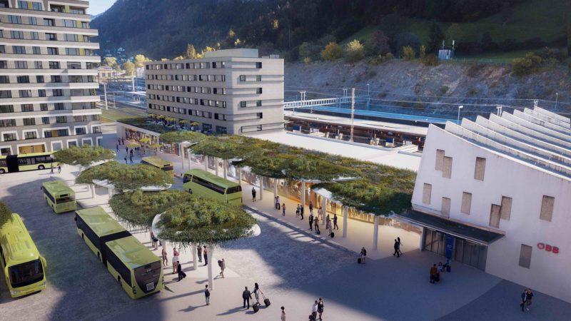 Bahnhofcity Feldkirch: Bauende fest im Blick