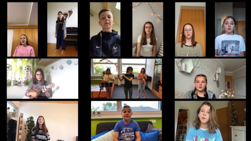 Grooviges Home-Schooling-Projekt mit Schülern an der MMS Thüringen