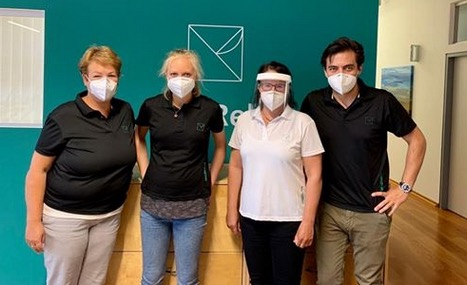 650 Gesichtsmasken an ambulante med. Rehabilitation Feldkirch gespendet