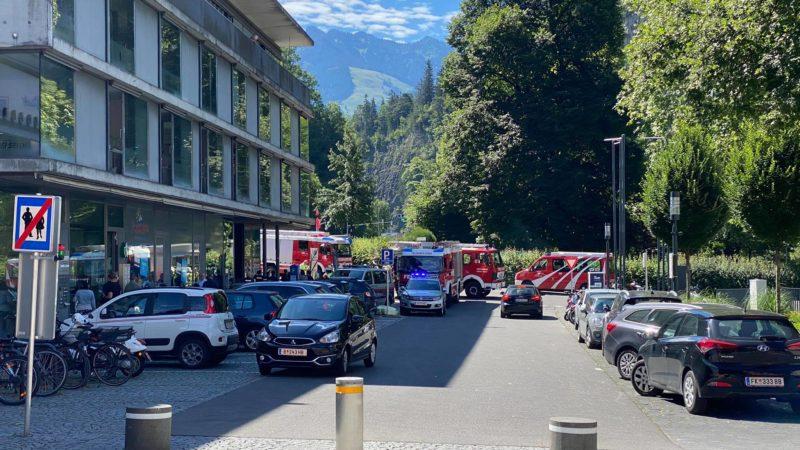Autobrand in Feldkirch