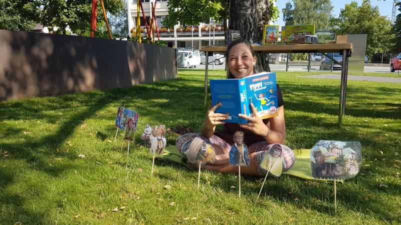 Frastanz: Lesen im Park – Geschichten von Astrid Lindgren