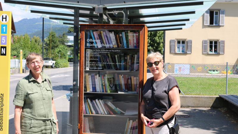 Lesespaß für alle 24/7: Neue Bücherschränke in Feldkirch