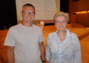 Martin Herburger und Kriemhild Büchel-Kapeller führten durch den Vereins-Abend