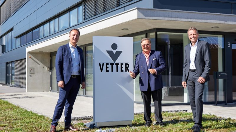 Vetter erweitert Development Service um neuen Standort in Österreich