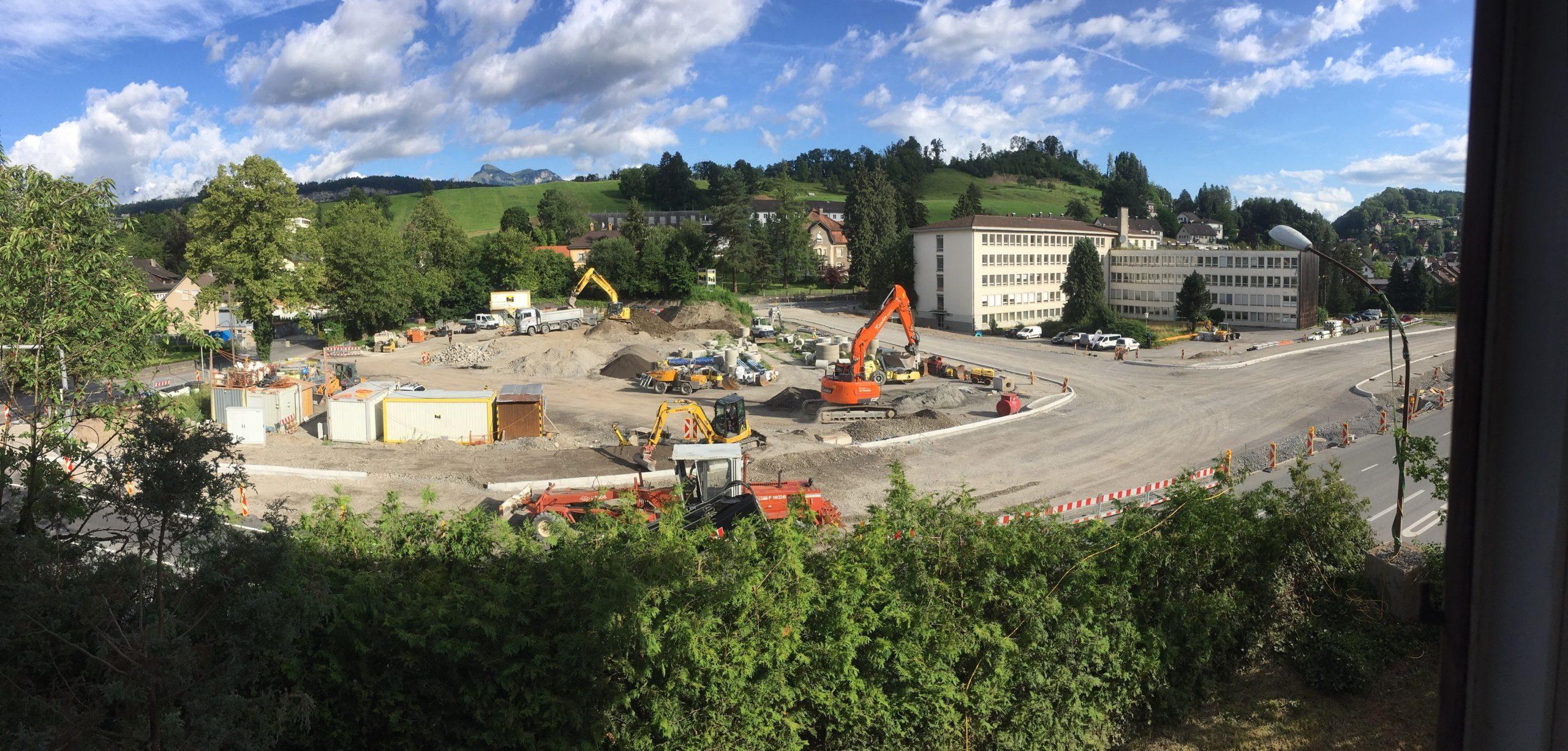 Vorarbeiten für den Stadttunnel Feldkirch an L191a
