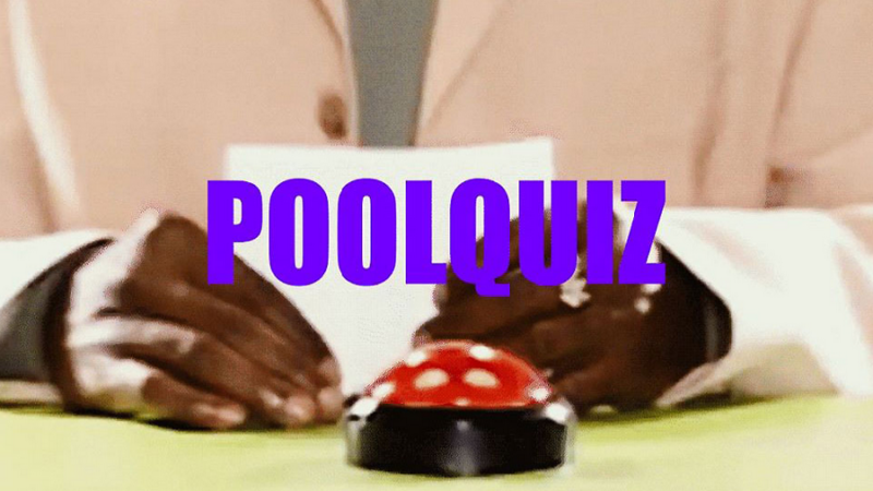 Poolbar-Festival: Poolquiz, Beats & Beer