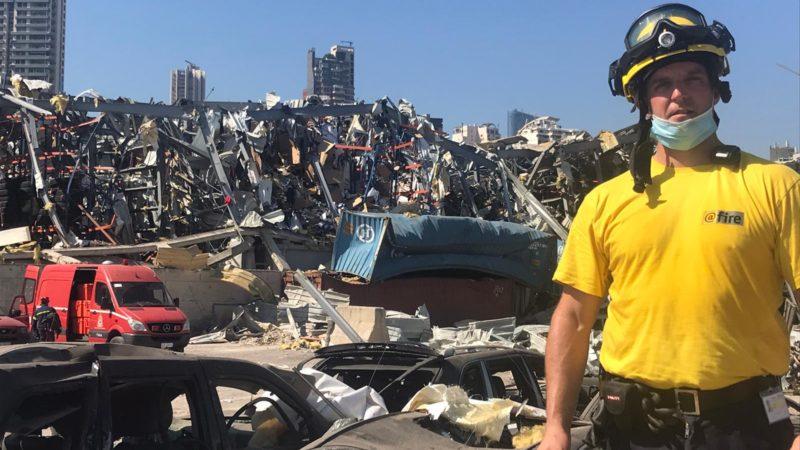 Feldkircher Markus Stengele hilft nach Explosion im Libanon