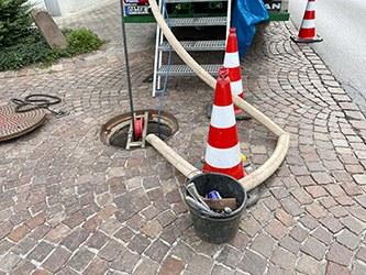 """""""Grabenlose"""" Kanalsanierungen in Altach"""