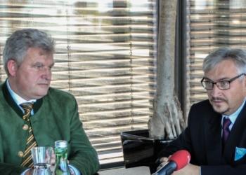 Metzler und Domjanić gründeten die :alpenarte 2017 in Schwarzenberg.