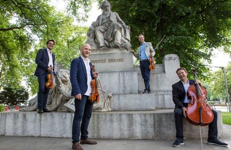 Wiener Symphoniker-Heurigen mit dem Matthias-Honeck-Quartett