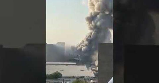 Gigantische Explosionen in Beirut