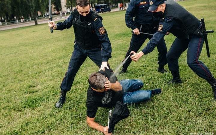 Belarus: Oppositionspolitikerin Marija Kolesnikowa entführt und Gewalt gegen friedliche Demonstranten