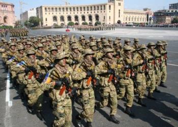Armenische Truppen - Quelle: Հայկական Լեռնաշխարհ