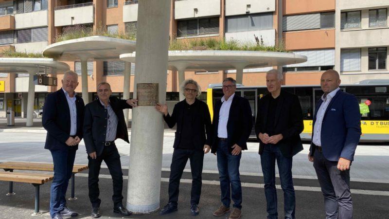 Bahnhofcity Feldkirch: Inbetriebnahme Busterminal