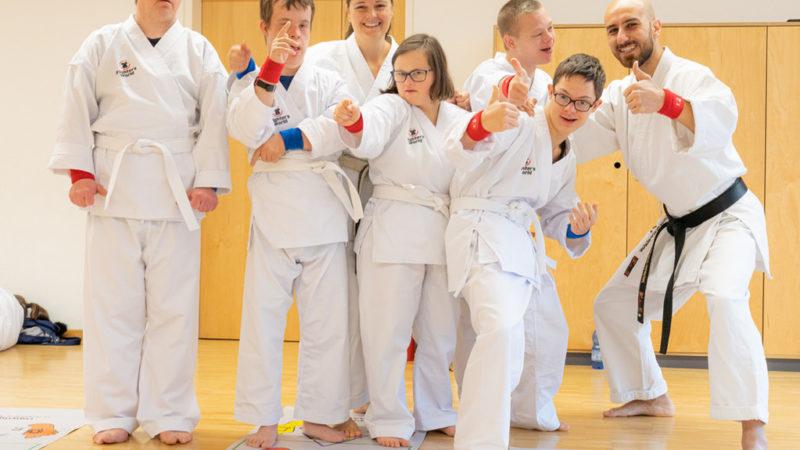 Medaillen bei den OTW Worldchampionships  für Martina Galehr und Timo Palombo in den Karate Para Bewerben
