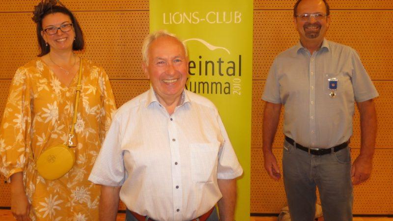 Präsidenten-Wechsel bei den Kumma-Löwen