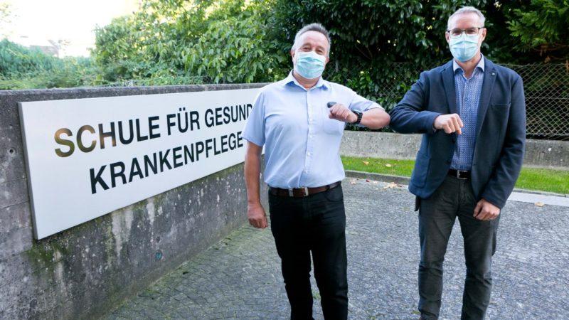 Mario Wölbitsch ist neuer Leiter der Gesundheits- und Krankenpflegeschulen Feldkirch und Rankweil