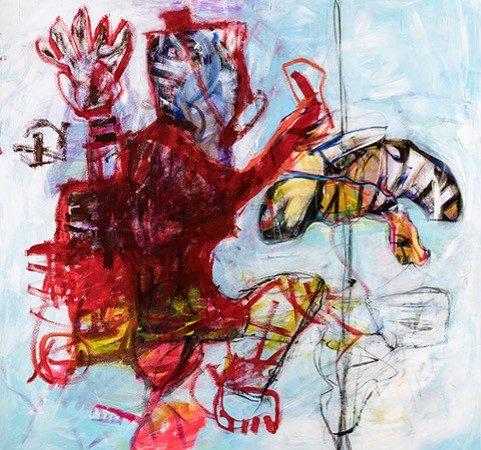 Harald Gmeiner zeigt Werke zum runden Geburtstag in Villa Claudia