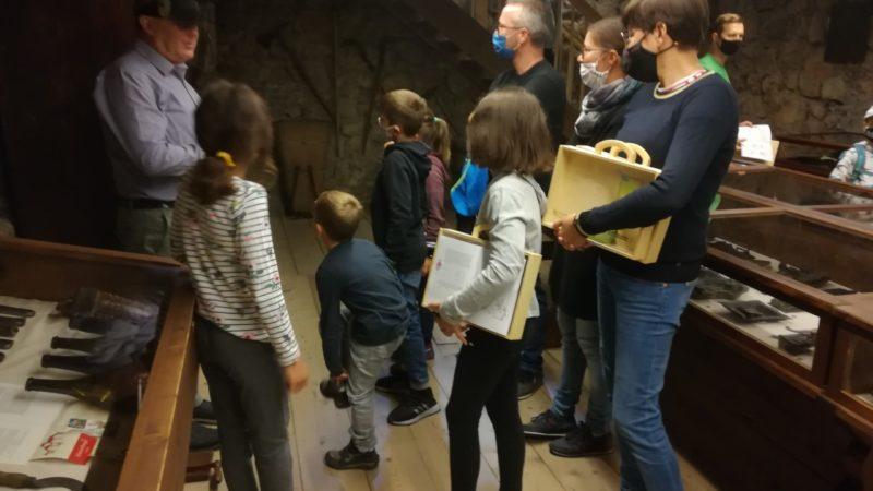 Reisezielsonntag in der Schattenburg: Knapp 500 kleine und große Besucher