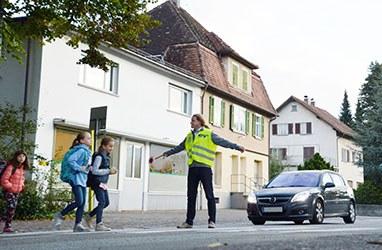 Schulwegpolizei sucht Verstärkung in Altach