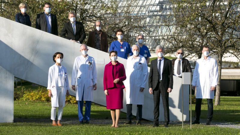LKH Feldkirch: Neue Räumlichkeiten für Dialyse-Patienten