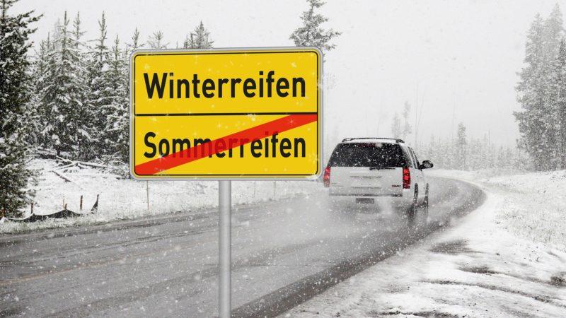 Winterreifenpflicht ab 1.November