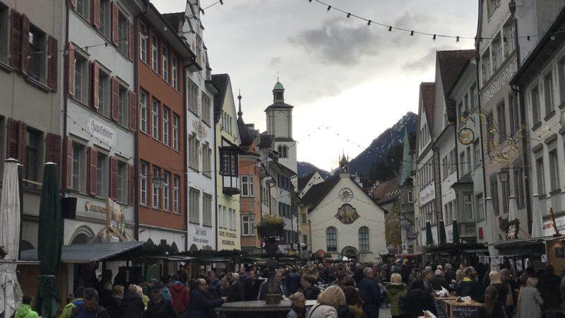 """Auch im """"Corona-Jahr"""" erstrahlt Feldkirch in weihnachtlichem Glanz"""