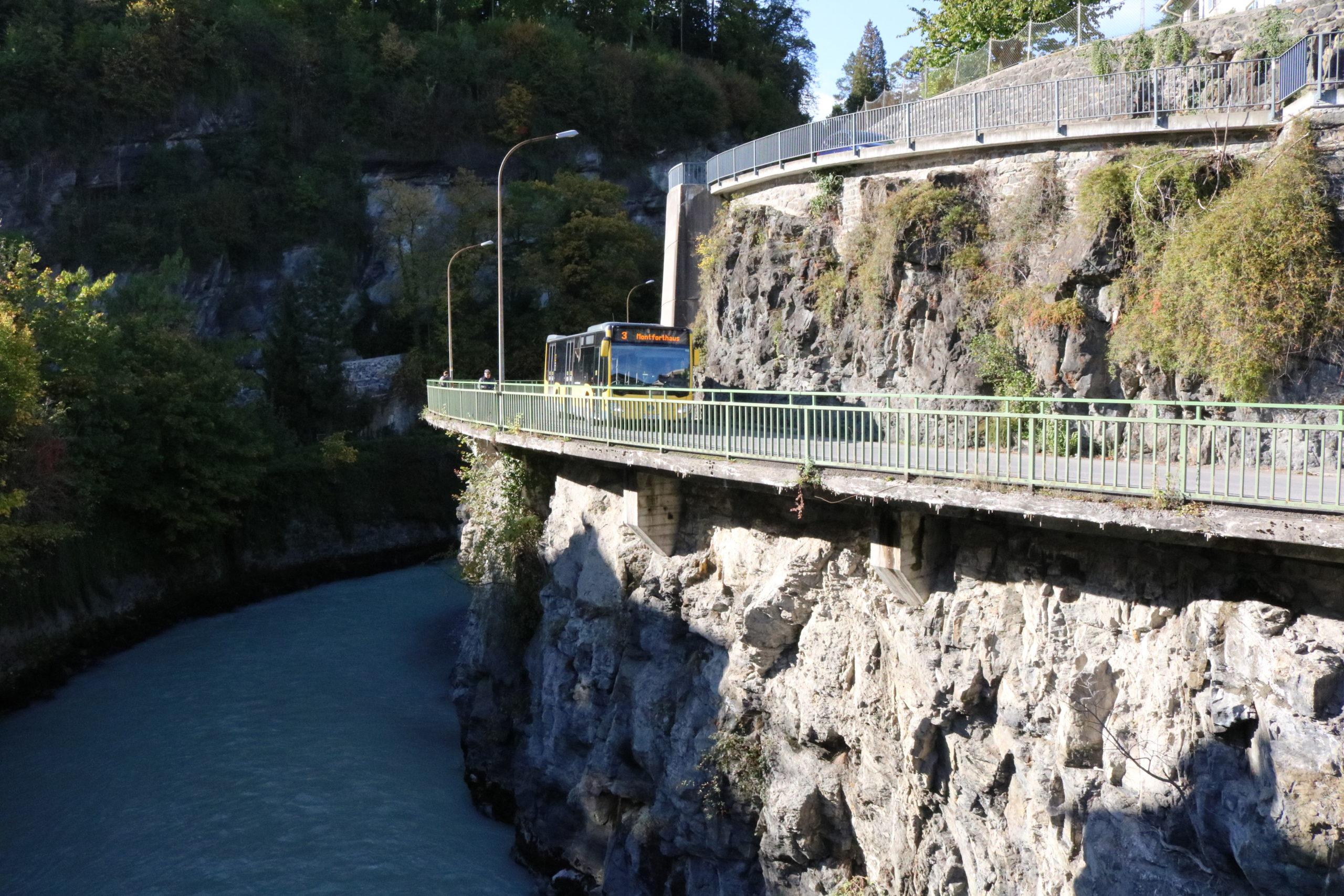 Hochwasserschutz Feldkirch Kapfschlucht – Feldversuch zur Vorbereitung der Bauarbeiten ab 2022