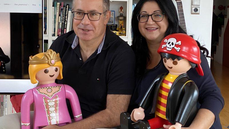 Familie Butterweck und ihre bunte Playmobilwelt in Lustenau