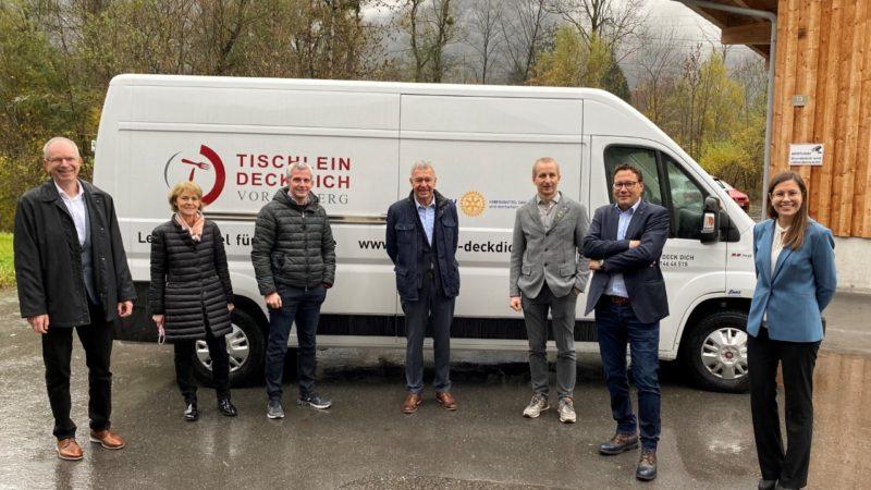 """Neuer Kühltransporter für """"Tischlein deck dich"""""""