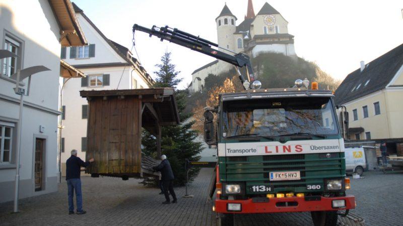 Krippe erstmals am Rankweiler Marktplatz