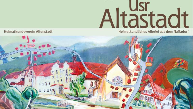 """Heimatkundeverein Altenstadt: """"Üsr Altastadt"""" Nr. 18 liegt auf"""
